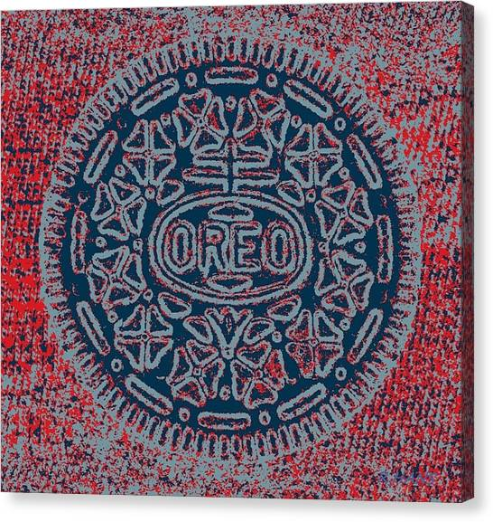 Nabisco Canvas Print - Oreo In Hope 14 by Rob Hans
