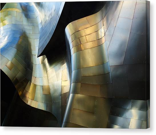 Metal Canvas Print - Organic Metal #3 by David Reams