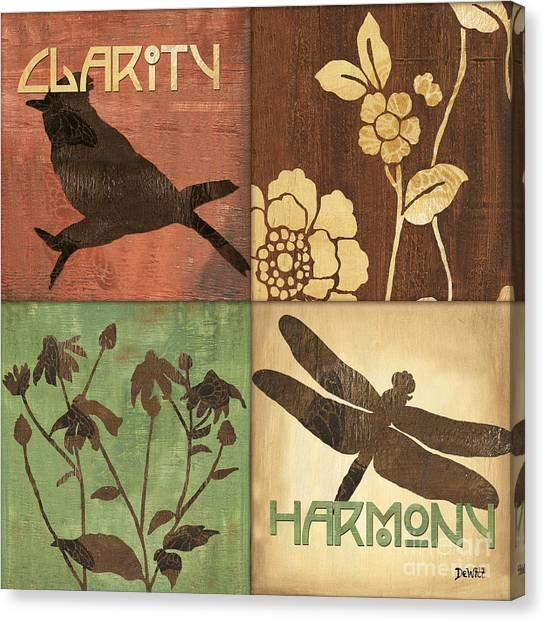 Dragonfly Canvas Print - Organic Nature 2 by Debbie DeWitt
