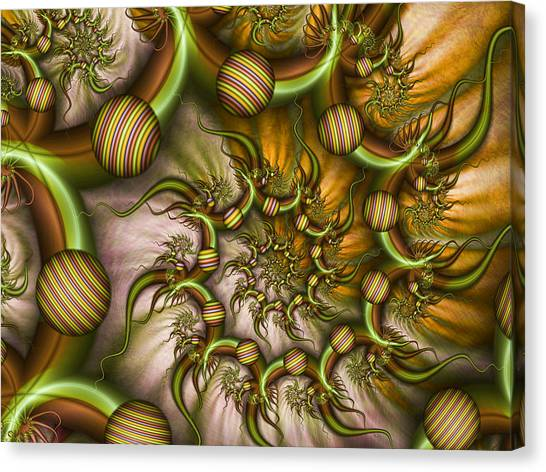 Organic Playground Canvas Print