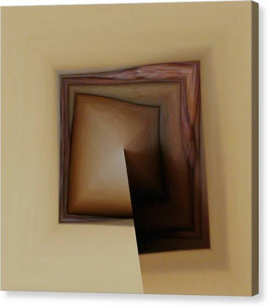 Organic Square Canvas Print