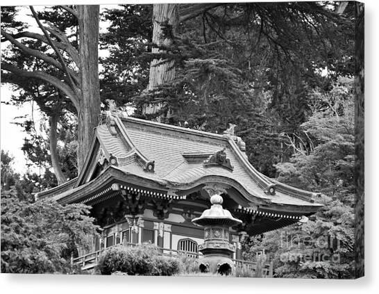 Oriental Garden #2 Canvas Print