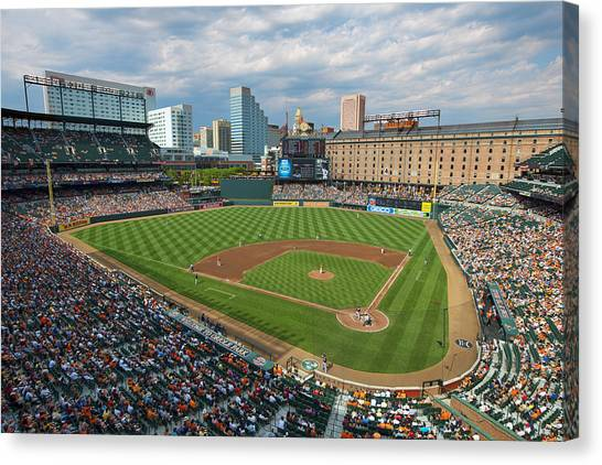 Oriole Park At Camden Yards Canvas Print