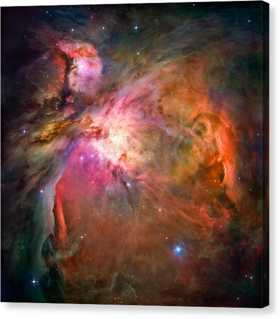 Stellar Canvas Print - Orion Nebula by Marco Oliveira