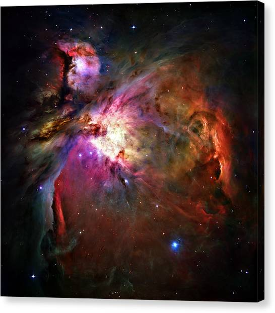 Celestial Canvas Print - Orion Nebula by Ricky Barnard