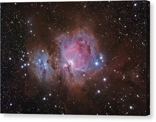 Orion's Sword Canvas Print by Brian Peterson