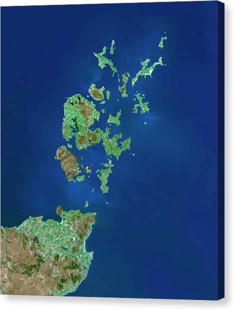 Orkney Islands Canvas Print by Planetobserver/science Photo Library