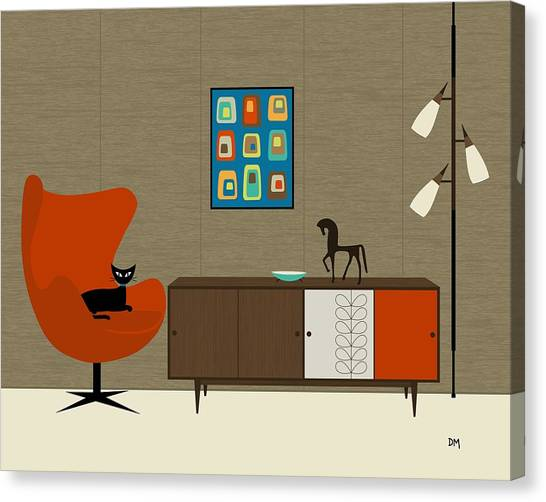 Orla Kiely Cabinet Canvas Print