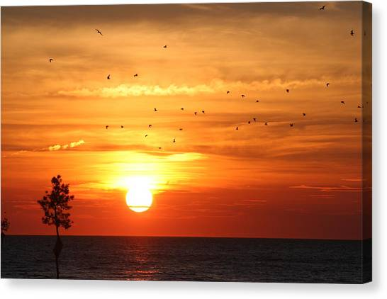 Orleans Sunset Canvas Print