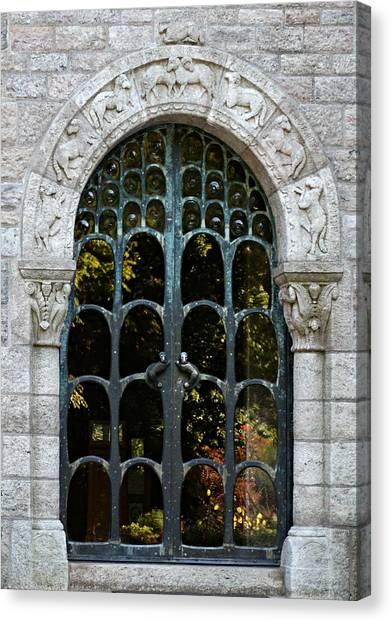 Ornate Door Canvas Print by Brenda Conrad