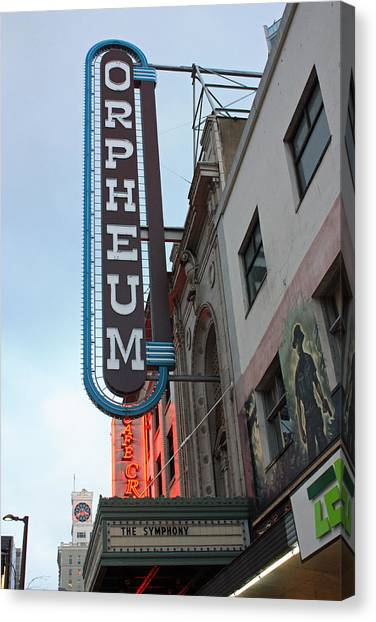 Orpheum Theatre Canvas Print