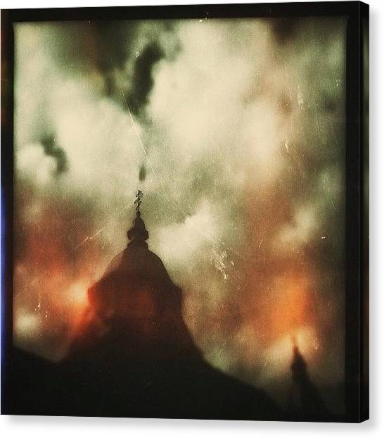Orthodox Art Canvas Print - Orthodox I by Suzanne Goodwin