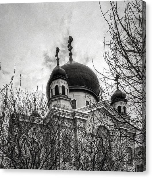 Orthodox Art Canvas Print - Orthodox Church by H James Hoff