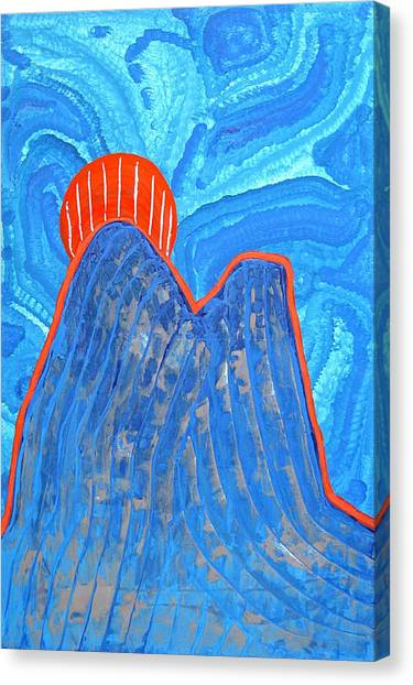 Os Dois Irmaos Original Painting Sold Canvas Print