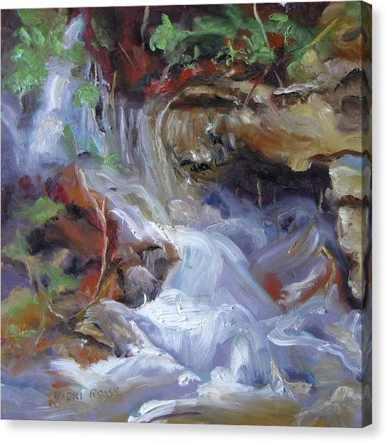 Osage Creek Waterfall Canvas Print