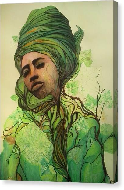 Osanyin Canvas Print