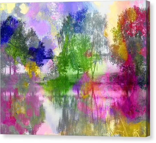 Osbourne's Pond Canvas Print