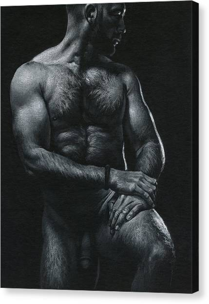 Oscuro 17 Canvas Print by Chris Lopez