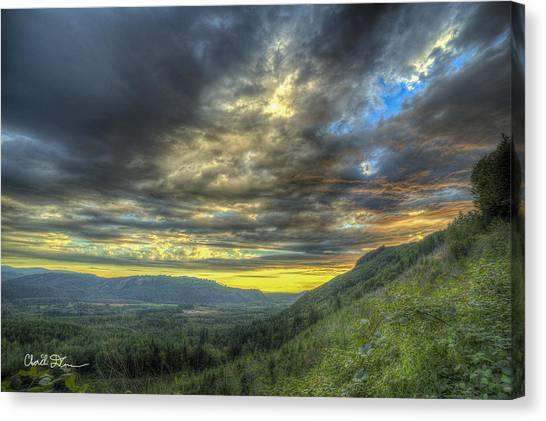 Oso Valley Canvas Print