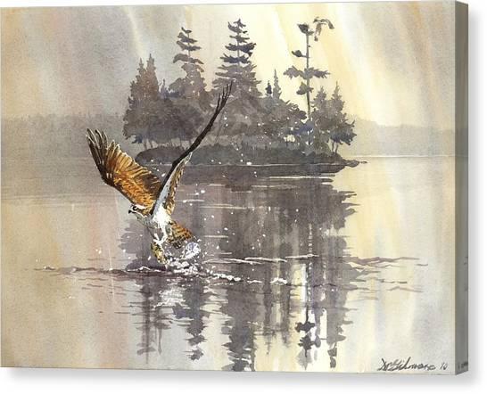 Osprey Hunting No.2 Canvas Print