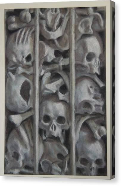 Ossuary Canvas Print