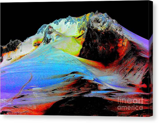 Otherwordly Places Canvas Print