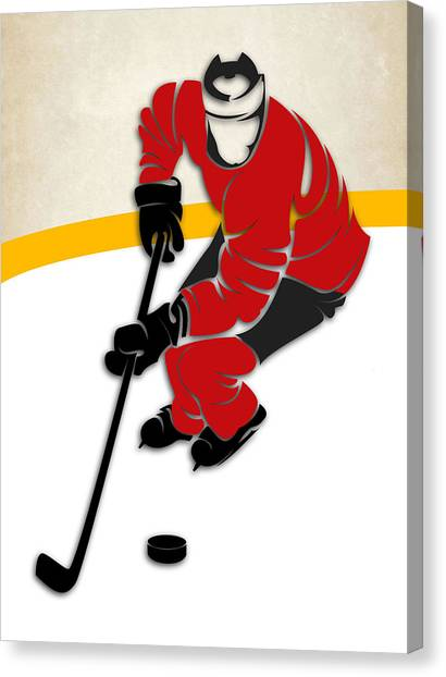 Ottawa Senators Canvas Print - Ottawa Senators Rink by Joe Hamilton