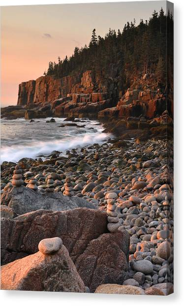 Otter Cliffs Morning Canvas Print