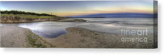 Otters Canvas Print - Otter Creek In Sleeping Bear Dunes by Twenty Two North Photography