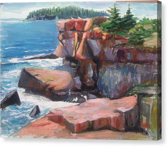 Otter Point_acadia_main Canvas Print
