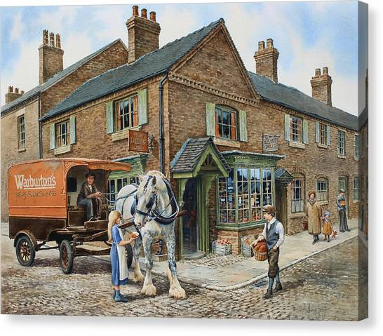 Our Daily Bread Canvas Print by Anthony Forster