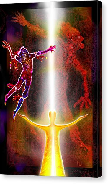 Search Canvas Print - Our Eternal Dance by Hartmut Jager