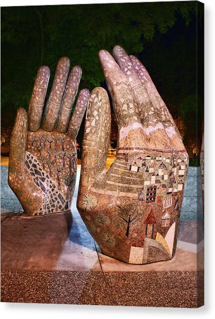 Our Hands Canvas Print
