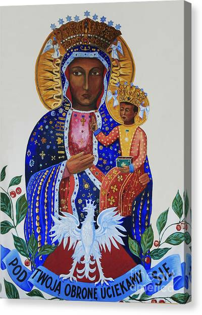 Our Lady Of Czestochowa Canvas Print