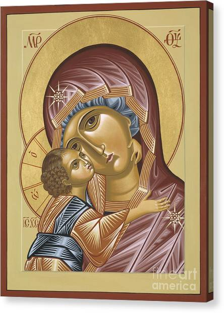 Our Lady Of Grace Vladimir 002 Canvas Print