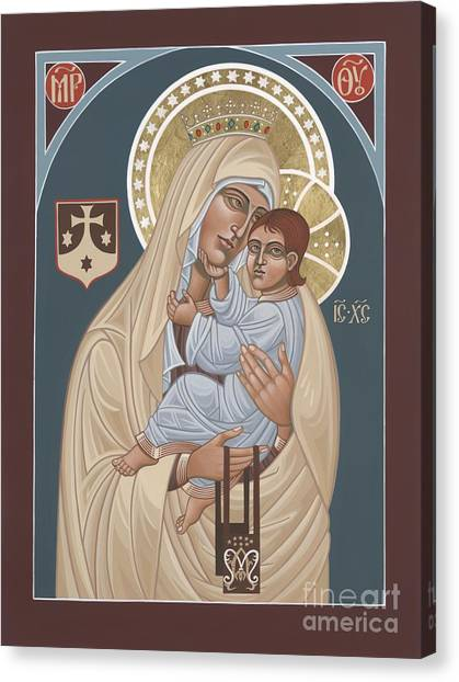 Our Lady Of Mt. Carmel 255 Canvas Print
