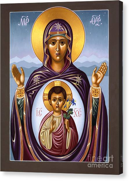 Our Lady Of The New Advent Gate Of Heaven 003 Canvas Print