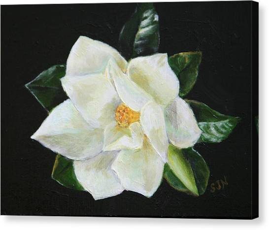 Our Magnolia Canvas Print