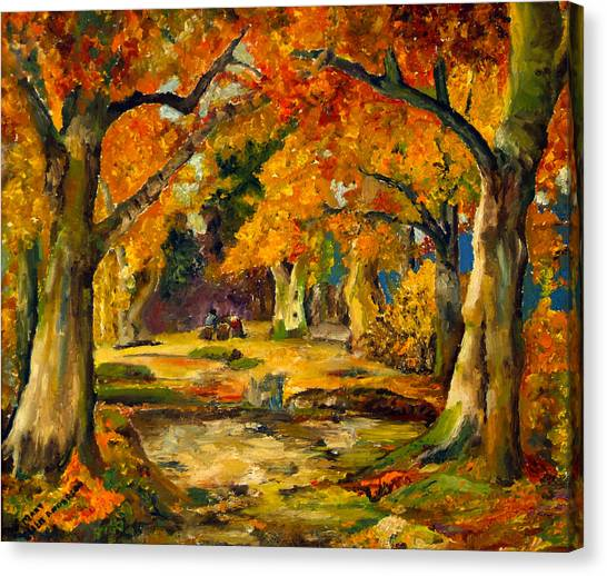 Our Place In The Woods Canvas Print