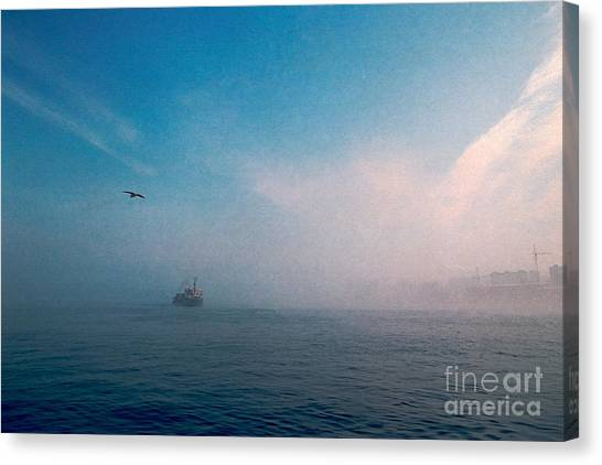 Out Morning At Sea  Canvas Print