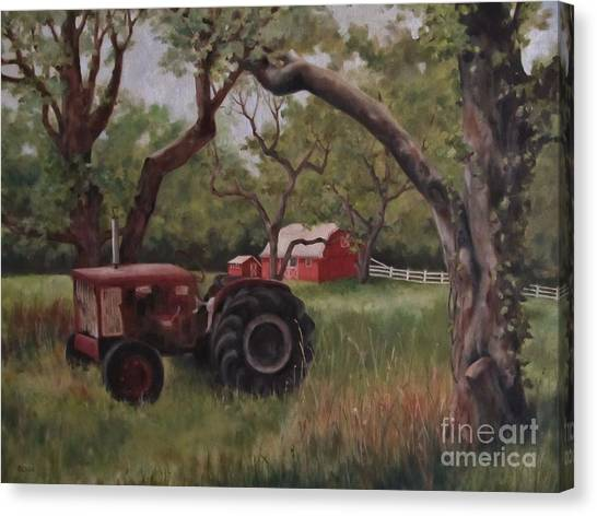 Out Of Commission Canvas Print by Karen Olson