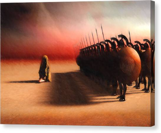 Egyptian Canvas Print - Out Of Egypt by Bob Orsillo