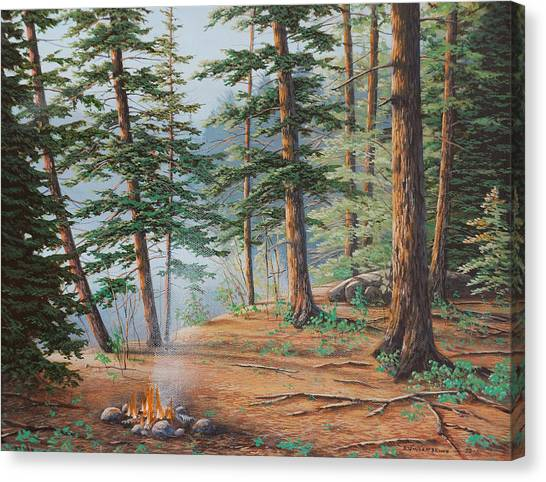 Outdoor Life Canvas Print