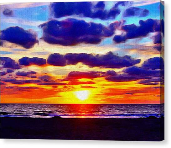 Outer Banks Sunrise Canvas Print