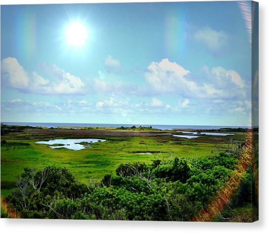 Outer Banks Tranquility Canvas Print