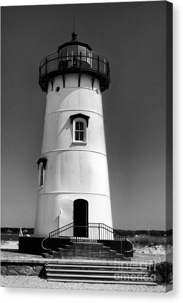 Outside Edgartown Lighthouse Canvas Print