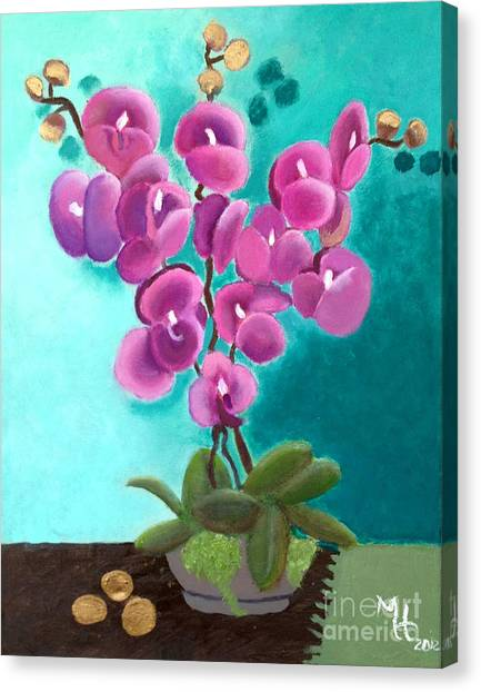 Outstanding Orchids Canvas Print