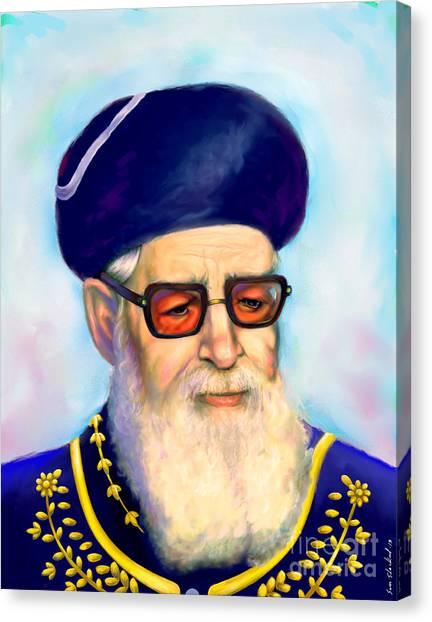 Ovadiah Yosef Canvas Print