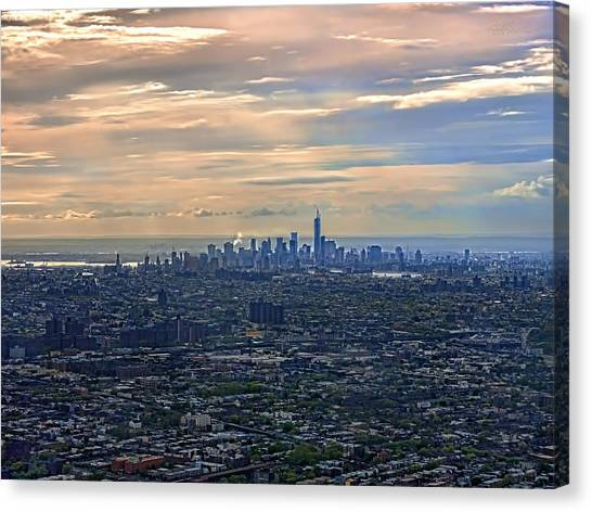 Over East New York Canvas Print