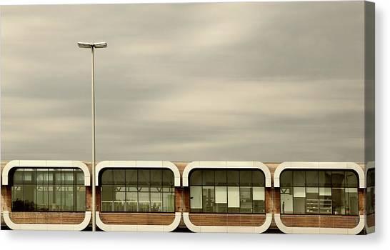 Belgium Canvas Print - Over The Highway by Jutta Kerber